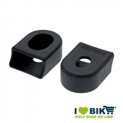 Pairs cranks guards in black rubber