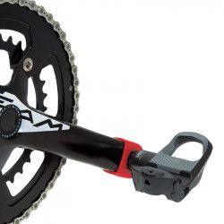Paia protezioni pedivelle per guarnitura bici corsa in gomma nere shop online