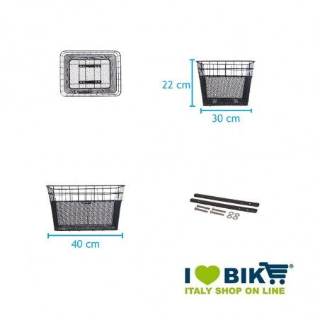 Basket bike BRN FIDO animal transport bike store