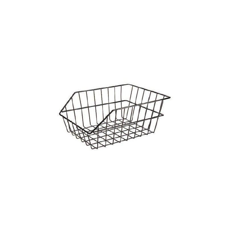Black steel rear basket RMS - 1