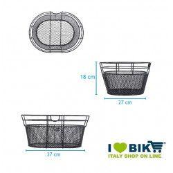cesto anteriore colorato miele per bicicletta vendita accessori