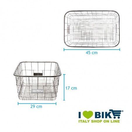 Basket, front / rear Metal Steel