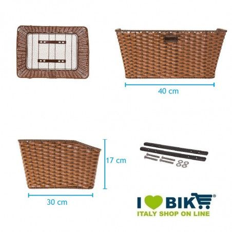 CO91H vendita cestini per biciclette on line cesti per bici shop negozio accessori ciclismo