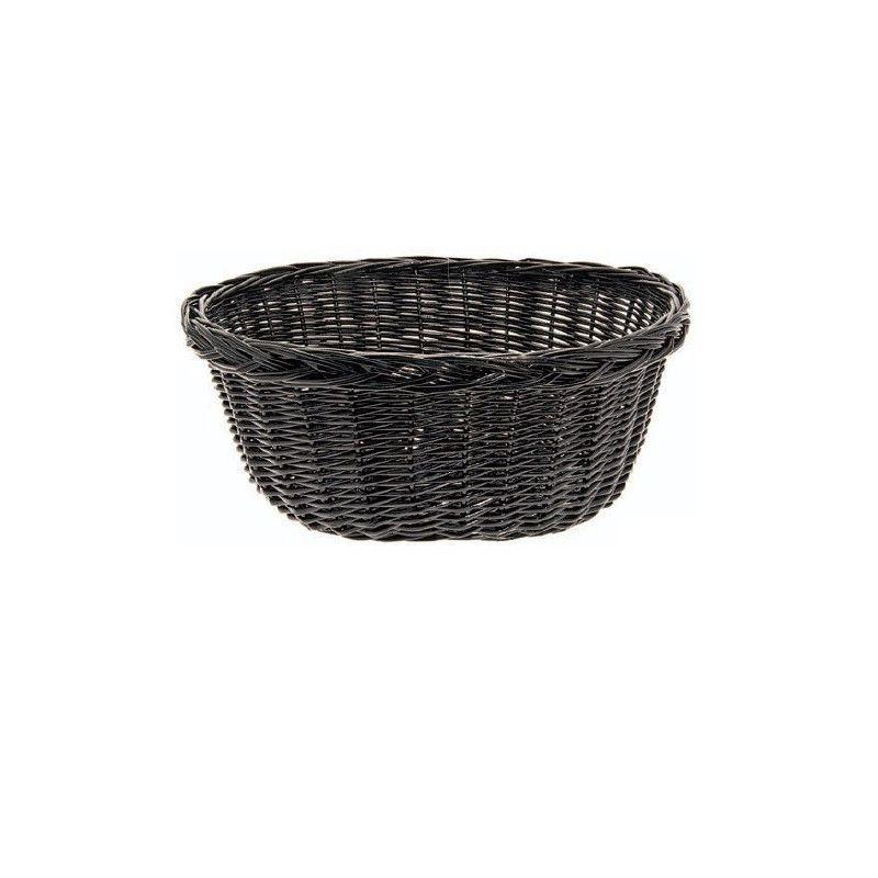 Wicker Basket in Holland Black BRN - 1