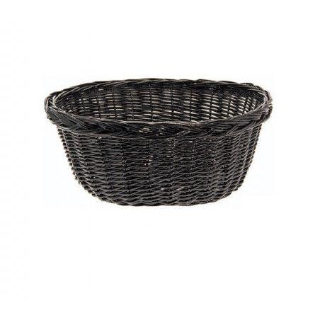 Wicker Basket in Holland Black