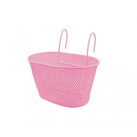 Basket in the retina baby pink