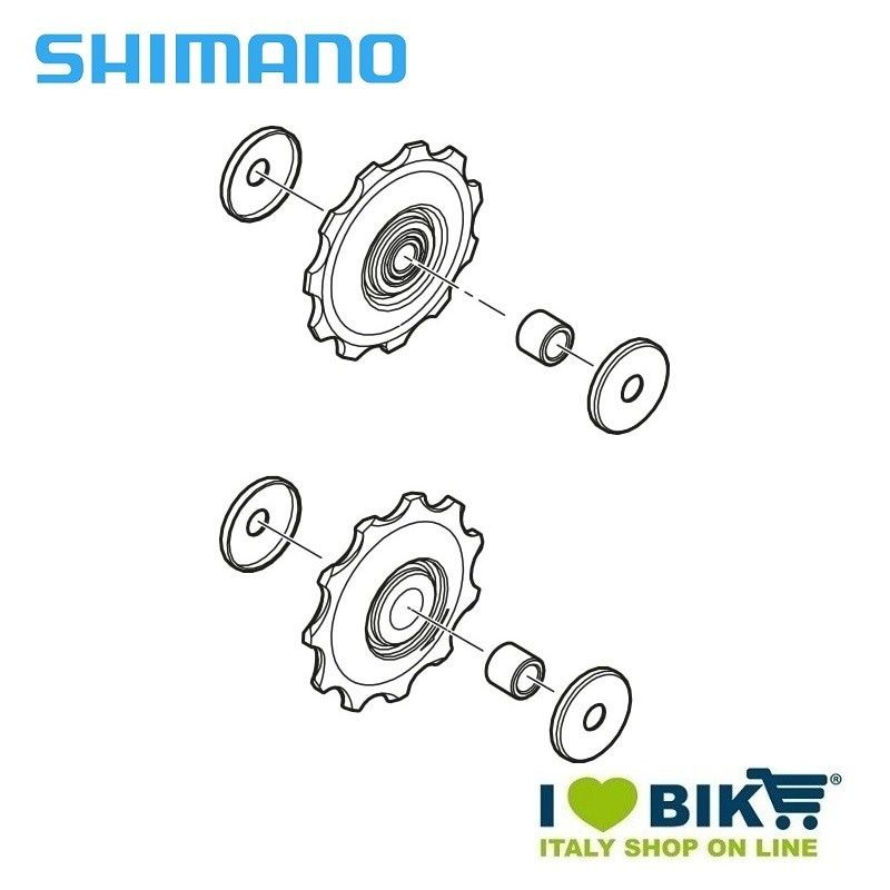 Kit Pulegge per Cambio Shimano ALIVIO RD-M410 online shop