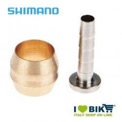 Ogiva con inserto per tubi freno a disco Shimano SM-BH90 bike shop