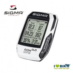 Ciclocomputer per bicicletta corsa Sigma Rox 11.0 GPS bianco online store
