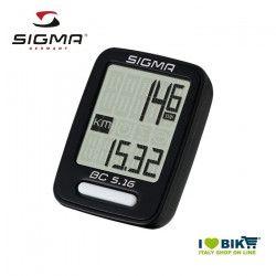 Ciclocomputer per bicicletta corsa Sigma BC 5.16 con filio online store