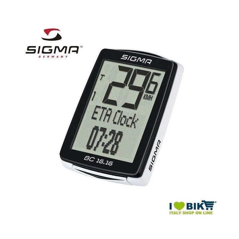 Ciclocomputer per bicicletta corsa Sigma BC 16.16 STS senza filo con kit cadenza online shop