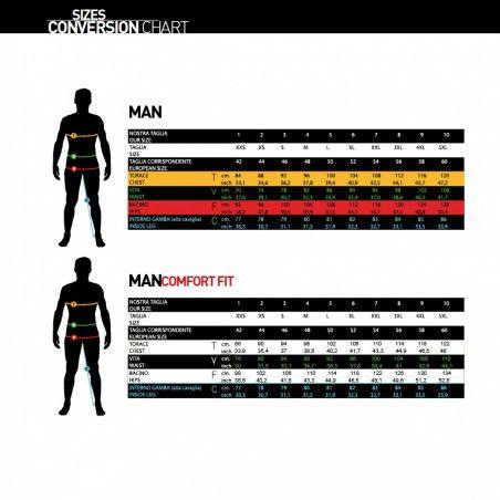 Maglia ciclismo nero bianco BRN abbigliamento shop