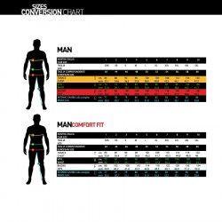 Bernardi Pantalone ciclista nero bianco online shop ilovebike