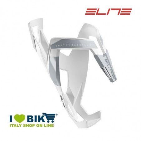 Portaborraccia per bici corsa Elite Custom Race Plus bianco opaco/grigio online shop