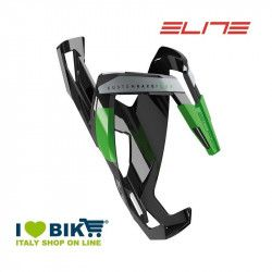 Bottle cage Elite Custom Race Plus Glossy black / green online store