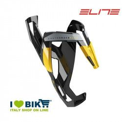 Portaborraccia per bici corsa Elite Custom Race Plus nero lucido/giallo online shop