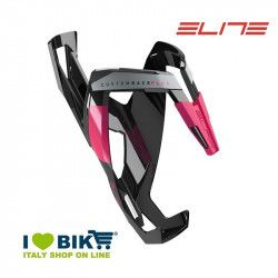 Portaborraccia per bici corsa Elite Custom Race Plus nero lucido/rosa online shop