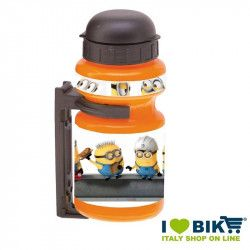 Borraccia per ciclo Minion con portaborraccia online shop