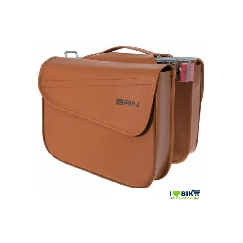 Trendy Handbags bag imitation leather honey BRN - 1