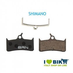 Pair BRN organic pads Shimano - XT BR-M755 - M756 for disc brakes bike shop