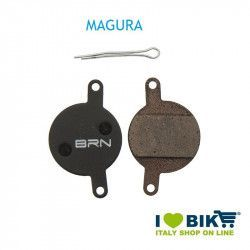Pair BRN organic pads Magura - JULIE for disc brakes bike shop