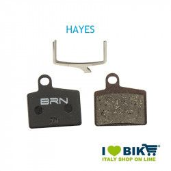 Pair BRN organic pads Hayes - Stroker Ryde for disc brakes bike shop
