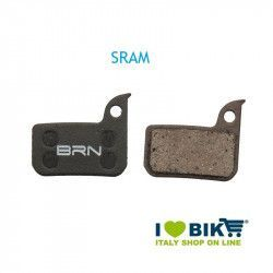 Pair BRN organic pads SRAM Red for disc brakes bike shop