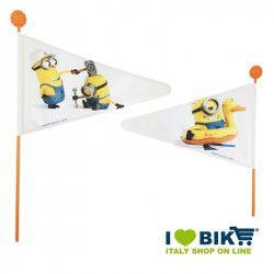 Bandierina ciclo doppia faccia Minion online shop