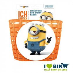 Basket bicycle baby Minion orange online sale
