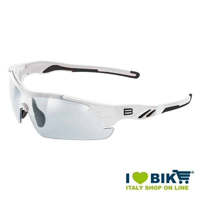 Occhiali ciclismo Arrow Fototech Bianco