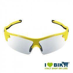 Occhiali ciclismo Arrow Fototech giallo fluo