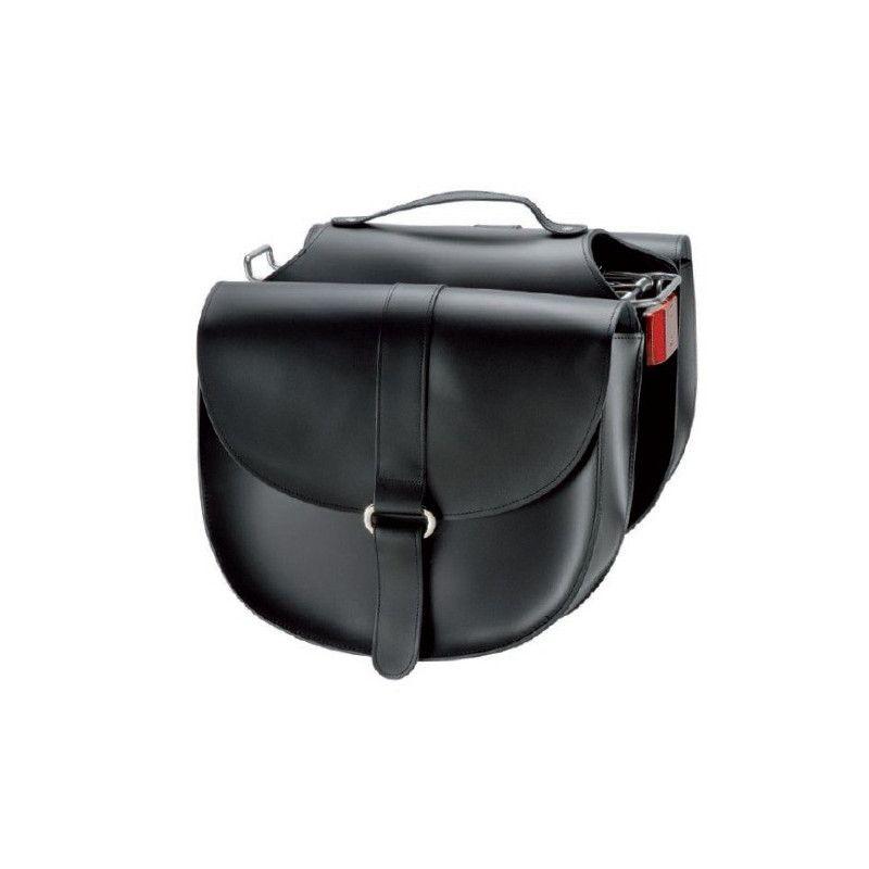 Florence leather-like Bags bag black BRN - 1