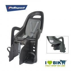 Polisport Groovy Maxi bicycle seat back to the black holder