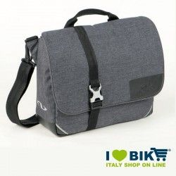Borsa da manubrio Norwich Urban Tweed grigia bike store