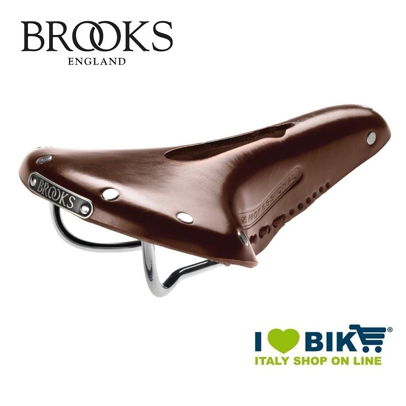 e6be4688948f23 Vintage bicycle saddle Brooks Team Pro Imperial brown online shop