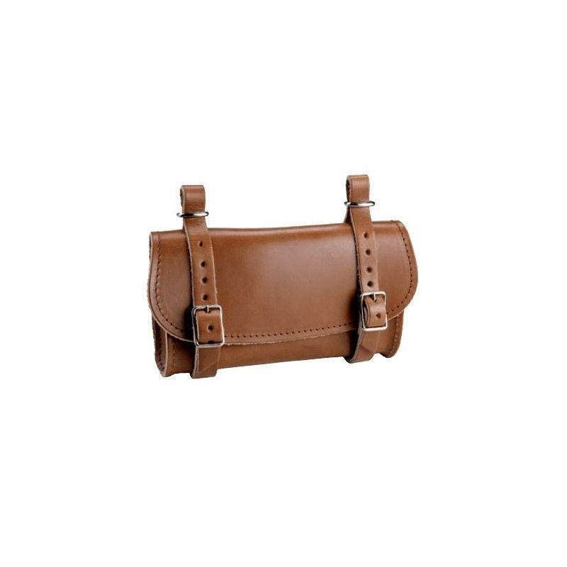 Saddle Leather Handbag honey BRN - 1