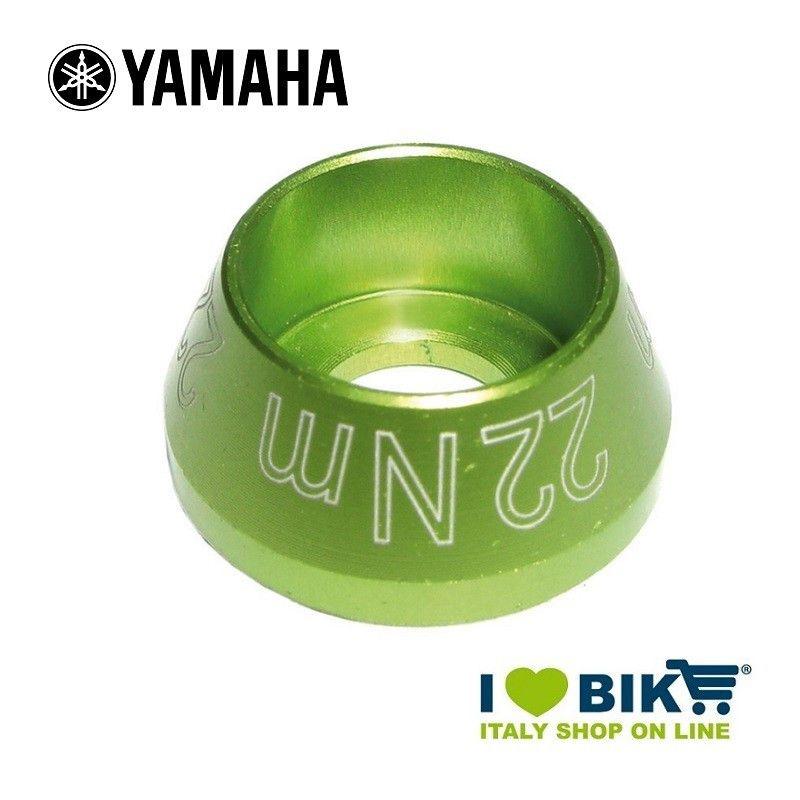 Screw plug for Yamaha E-Bike engine green anodized