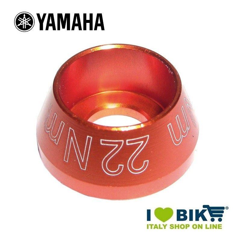 Tappo vite per motore Yamaha arancio anodizzato