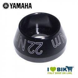 Tappo vite per motore Yamaha nero anodizzato