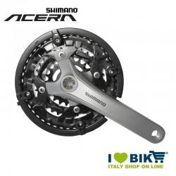 Crank Shimano 44/32/22 Acera aluminum (Dx + Sx)
