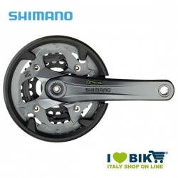 Guarnitura Shimano tripla 40/30/22 FC M4000