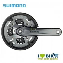 Guarnitura Shimano tripla 40/30/22 FC M4000