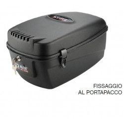 Handbag with fastening to the parcel rack 17 liters BRN - 1