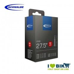 Camera d'aria misura per bicicletta 27.5 x 1.50-2.25 valvola francese