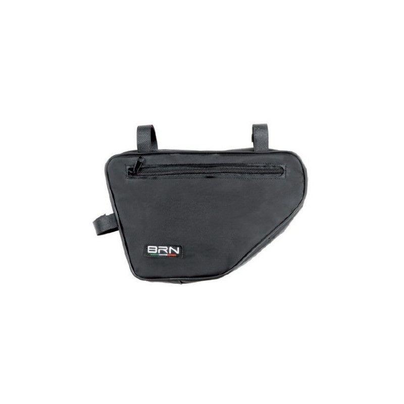 Handbag black pentagon BRN - 1