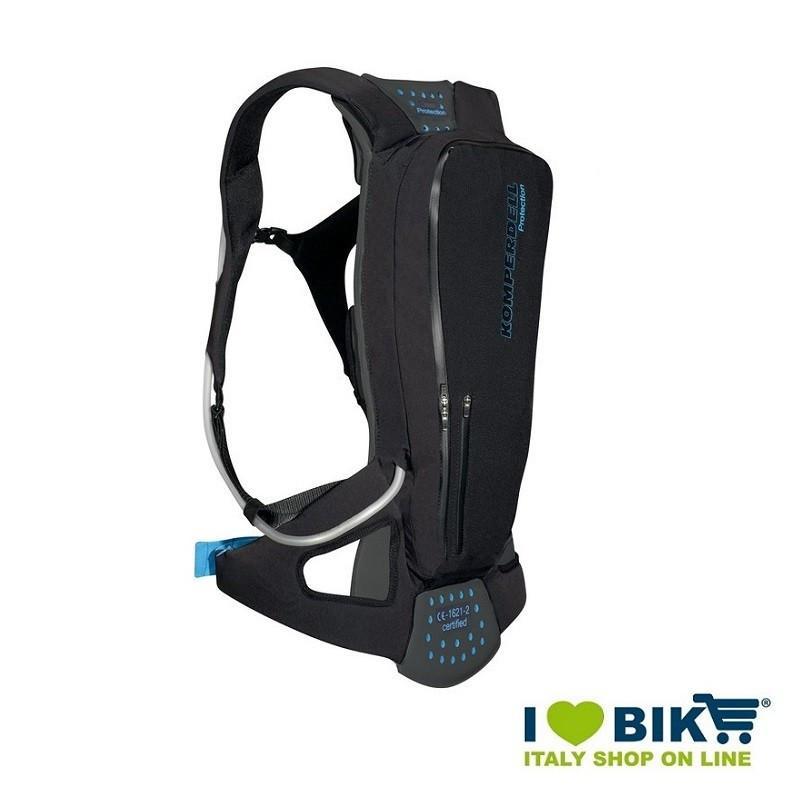 Zaino protettore Komperdell Tourpack sacca idrica 2L S  bike shop