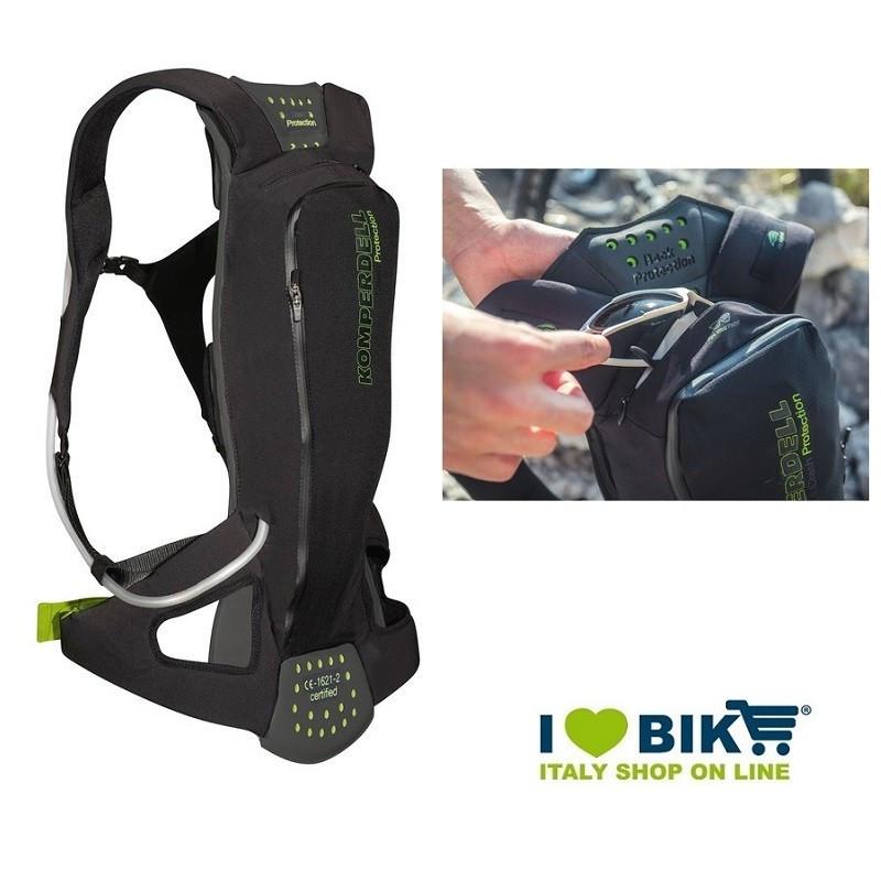 Zaino protettore Komperdell Litepack sacca idrica 1.5L XL  bike shop