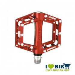 Coppia pedali MTB Xpedo Utmost rosso shop online