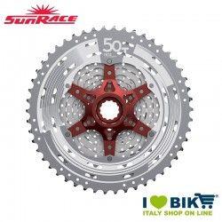 Cassetta Sunrace MTB 11v superlight 11/50 silver bike store