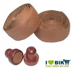 Honey leather Brave Classics handlebar tape